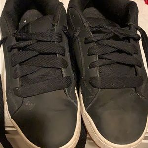 Men's Court Graffik Skate Shoe Black Sz 9
